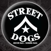 Street Dogs- Chevron Logo pin (pinX80)