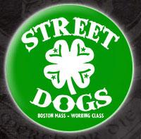 Street Dogs- Shamrock Logo pin (pinX82)