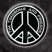 Tim Timebomb- Peace Logo pin (pinX83)