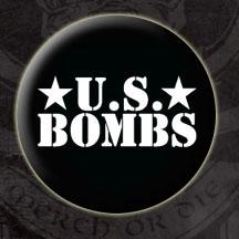 US Bombs- Logo (Black) pin (pinX87)