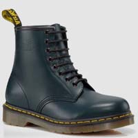 8 Eye Navy Smooth Dr Martens Boots