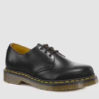 3 Eye Black Smooth Gibson by Dr. Martens