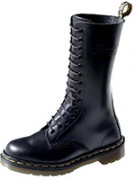 14 Eye Black Smooth Dr. Martens Boot