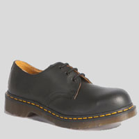 3 Eye Steel Toe Gibson by Dr. Martens- Black