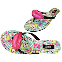 Doll Parts Flip Flops / Sandals by Iron Fist - SALE sz 7 only