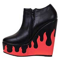 Fire Sign Wedge by Iron Fist - SALE