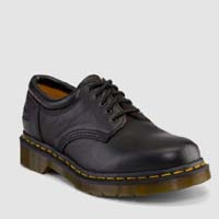 5 Eye Padded Gibson by Dr. Martens- Black Nappa