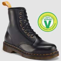 8 Eye Black Vegan Dr. Martens Boots