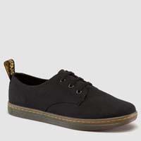 Callum 3 Eye Canvas Dr. Martens Sneaker- Black (Sale price!)