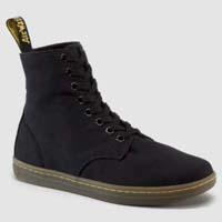 Alfie 8 Eye Canvas Dr. Martens Boots- Black (Sale price!)