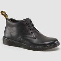Barnie 4 Eye Chukka Boot in Black Overdrive by Dr. Martens (Sale price!)
