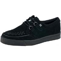 Black Suede Creeper Style Sneaker by Tredair UK (Sale price!)