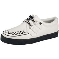 White Leather creeper style sneaker by Tred Air UK
