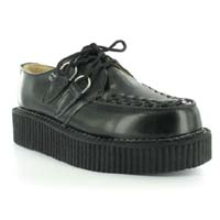 Black Leather Lo Sole Viva Creeper by Tred Air UK (Sale price!)