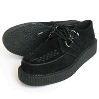Black Suede Lo Sole Viva Creeper by Tred Air UK (Sale price!)
