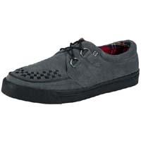 Grey Suede Creeper Style Sneaker by Tredair UK