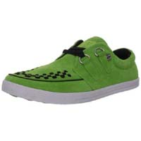 Neon Green Rocker Creeper Style Sneaker by Tredair UK (Sale price!)