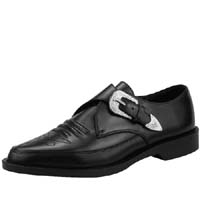 Western Monk Strap Toe Jam Shoe by Tred Air UK
