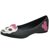 Sugar Skull Flats by Tred Air UK (Sale price!)