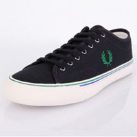 Kendrick Canvas Sneaker by Fred Perry- NAVY (Sale price!)