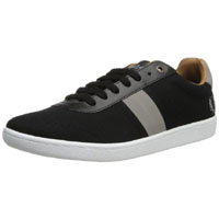 Sebright Canvas Sneaker by Fred Perry- BLACK (Sale price!)