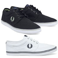 Stratford Canvas Sneaker by Fred Perry (Sale price!)
