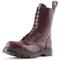 10 Eye Steel Toe Boot in OXBLOOD by Gripfast (Made In England!)