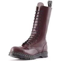14 Eye Steel Toe Boot in OXBLOOD by Gripfast (Made In England!)