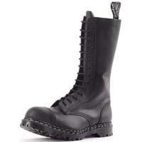 14 Eye Steel Toe Boot in BLACK by Gripfast (Made In England!)