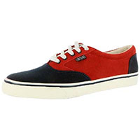 Jason Adams The Kid Sneaker in NAVY/RED by Iron Fist - SALE sz 7 only