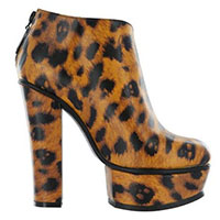 Change Your Spots Leopard Platform Bootie by Iron Fist - SALE sz 6 only