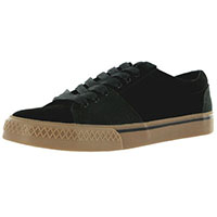 Duane Peters Broadway Lo Sneaker in BLACK SUEDE - SALE sizes 7, 7 1/2 only