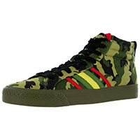 Duane Peters Clasher Hi Sneaker in CAMO - SALE sz 8 only/ girls 10