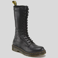 14 Eye Black Virginia Zippered Dr. Marten Boot (Womens)