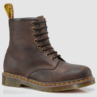 8 Eye Bark Grizzly Dr. Martens Boots