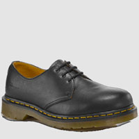 3 Eye Black Nappa Gibson by Dr. Martens