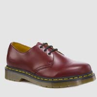 3 Eye Cherry Smooth Gibson by Dr. Martens