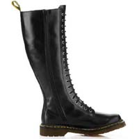 20 Eye Black Buttero Zippered Dr. Marten Boot (Womens)