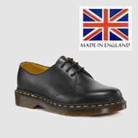 3 Eye Black Gibson by Dr. Martens (Made In England)