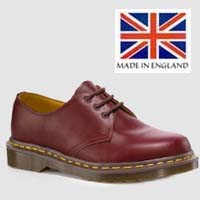 3 Eye Oxblood Gibson by Dr. Martens (MADE IN ENGLAND!)