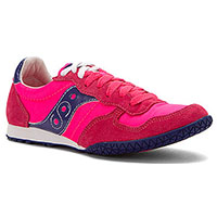 Womens Bullet by Saucony- Pink/Navy (Sale price!)