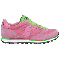 Womens Jazz Low Pro by Saucony- Pink/Green (Sale price!)
