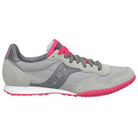Womens Bullet by Saucony- Grey/Pink (Sale price!)