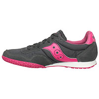 Womens Bullet by Saucony- Charcoal/Pink (Sale price!)