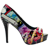 Smokin Stud Heel By Too Fast Clothing - SALE sz 10 only
