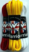 3-5 Eye Round Laces by Warrior Clothing (90cm)