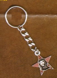 Che Guevara- Star And Face keychain (Sale price!)