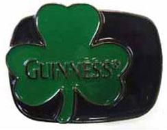 Guinness- Clover belt buckle (bb240) (Sale price!)