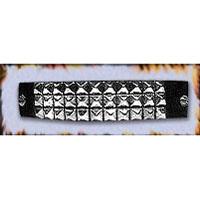 3 Row Pyramid Bracelet by Ape Leather