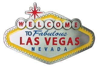 Welcome To Las Vegas belt buckle (bb145)